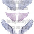Angel Wings Digital Collage Sheet
