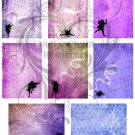 Fairy ATC Digital Collage Sheet JPG