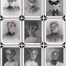 Masquerade Girls Digital Collage Sheet JPG