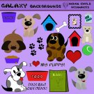 Puppy PNG Scrapbook Embellishments Pack