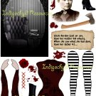 Lizzie Borden Altered Digital Paper Doll Kit JPG