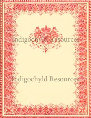 Large Royalty Background Digital Collage Sheet JPG