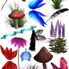 Fairy Accessories Digital Collage Sheet JPG