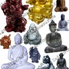 Buddha Digital Collage Sheet JPG
