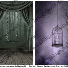 Fantasy Escape Backgrounds Digital Collage Sheet JPG