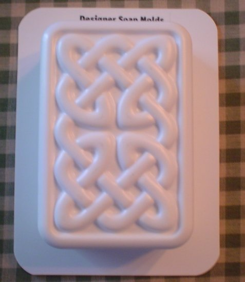 Rectangle Celtic Knot Mold - Single Cavity