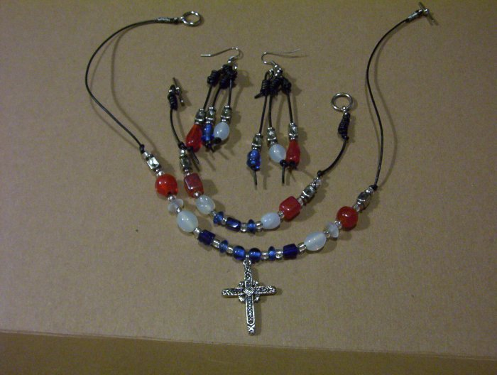 "MISSION SOUTHWEST JEWELRY SET-by Artisan, ""STINKWEED""-FREE SHIPPING"
