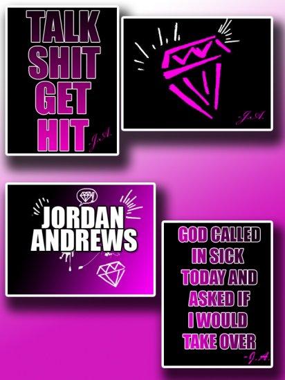 Jordan Andrews Sticker Pack