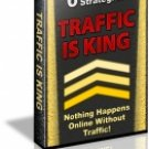 Traffic Is King ~ Free Website Traffic ~ Ebook ~ On Cd