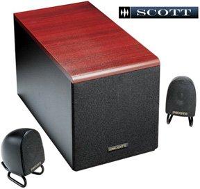 Scott Powered Speaker System
