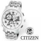 Citizen Men's Eco-Drive Calibre 8700 White Dial Watch