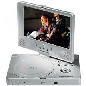 POLAROID 8' PORTABLE DVD PLAYER WITH GAME CONTROLLER
