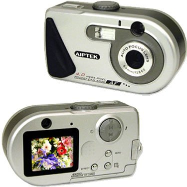 AIPTEK 4.0 MEGA PIXEL DIGITAL CAMERA