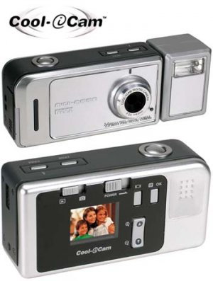 COOL-i-CAM DIGITAL CAMERA WITH DOCKING STATION