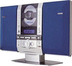 Fisher SLIM1500 Vertical CD Executive Mini-System