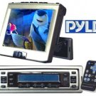 PYLE 6.4 IN MOTORIZED IN-DASH MONITOR W-AM-FM TV TUNER