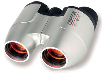 CARSON OPTICS FOCUS FREE BINOCULARS