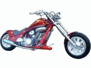 110cc - 4 Stroke, 4 Speed Chopper - Up to 48 MPH