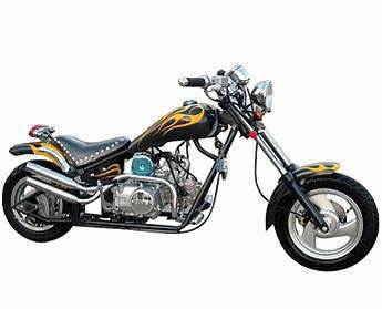 70cc - 4 Stroke Chopper - Up to 41 MPH