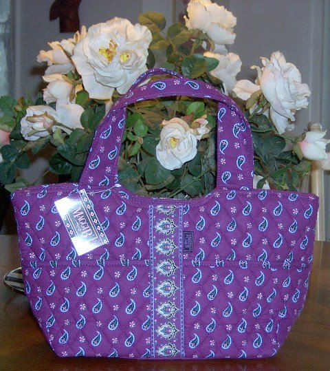 MaggiB Jewel Paisley Day Bucket