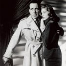"New Glossy B/W Photo Lauren Bacall and Humphrey Bogart 8"" x 10"""