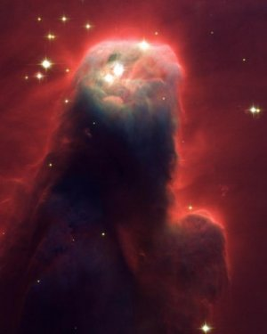 "Glossy Photo Cone Nebula from NASA Hubble Telescope 8"" x 10"""