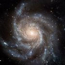 "Glossy Photo Spiral Galaxy from NASA Hubble Telescope 8"" x 10"""