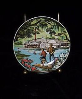 Vintage MIB Collectible Avon American Portraits Plate Collection The South