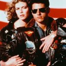 "Tom Cruise Kelly McGillis Top Gun Color Photo 8"" x 10"""