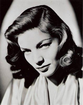 "New Glossy Black and White Photo Lauren Bacall  8"" x 10"""