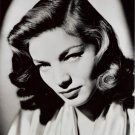 "New Glossy Black and White Photo Lauren Bacall  8"" x 10"""