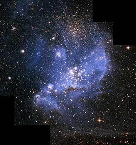 """Glossy Photo Infant Stars in Magellanic Clouds from NASA Hubble Telescope 8"""" x 10"""