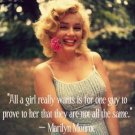 Free Thought For the Day: All A Really Girl Wants Marilyn Monroe