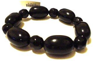 Black Bubble Bead Bracelet