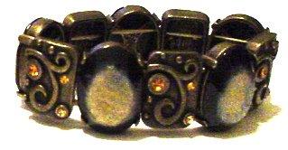 Crystal Studded Chunky Bracelet