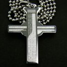 Christian Bible Cross Pendant Necklace