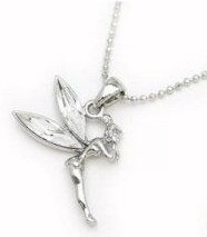 Clear Tinkerbell Necklace