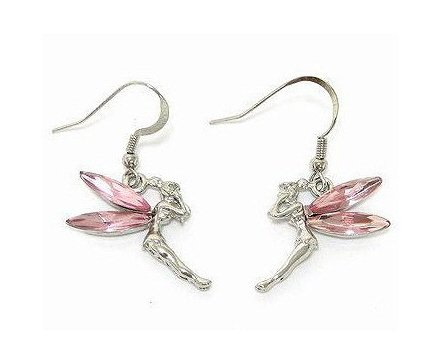 Pink Tinkerbell Earrings