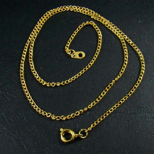 18K Gold Plated Thin Chain