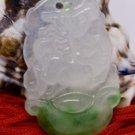 Jade Horse Chinese Zodiac Talisman Amulet Pendant Necklace [style1]