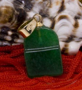 18K Gold Jade Pendant Necklace [style2]