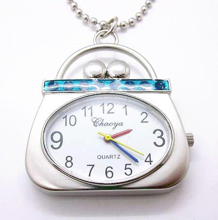 Handbag Purse Watch Necklace