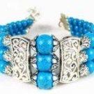 Tibetan Silver Turquoise Bracelet [style2]