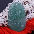 Jade Rooster (Chinese Zodiac) Pendant Amulet Talisman