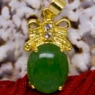 18K Gold Jade Crystal Pendant Necklace [style5]
