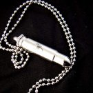 Scorpion Bullet Goth Pendant Necklace