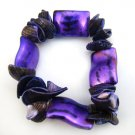 Violet Purple Shell Bracelet [style1]