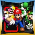 Super Mario Bros Luigi Waluigi Yoshi Pillowcase Only MLPW3851