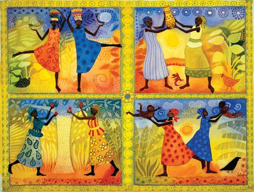 Women of Africa - 500 piece SunsOut puzzle - for Ages 12+