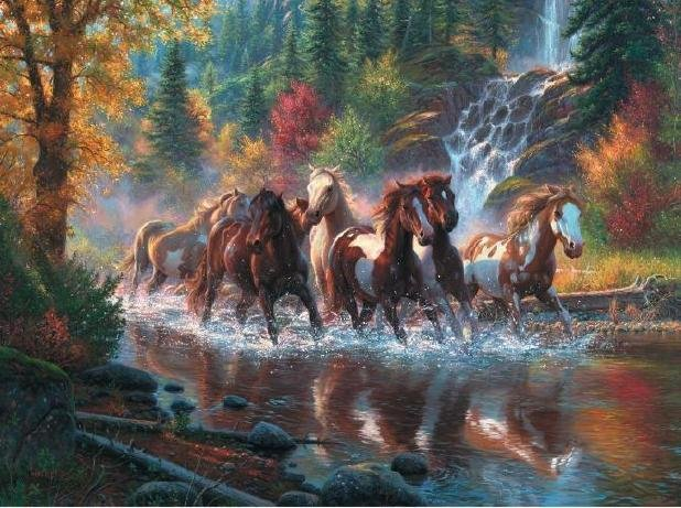 Born to Run - 1,000 piece SunsOut puzzle - for Ages 12+